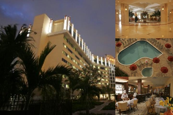 West Palm Beach Marriott photo collage