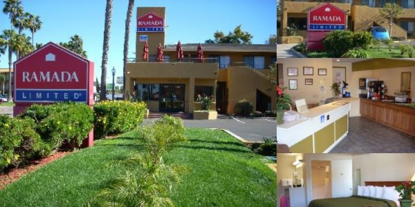 Ramada Limited San Diego / Near Seaworld photo collage