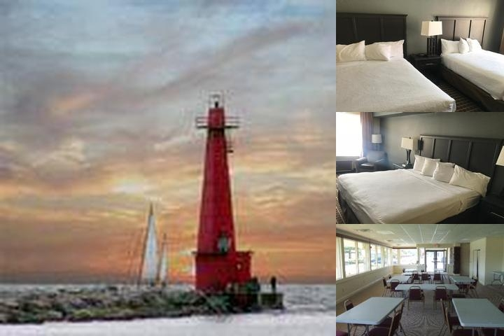 Clarion Inn & Suites Muskegon photo collage