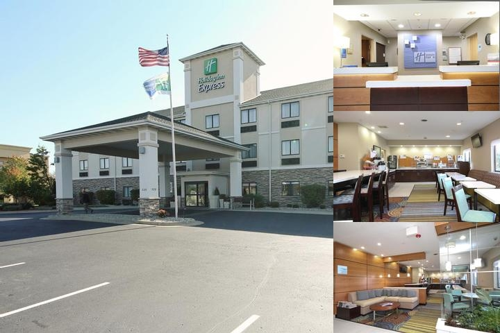 Holiday Inn Express Marshall photo collage