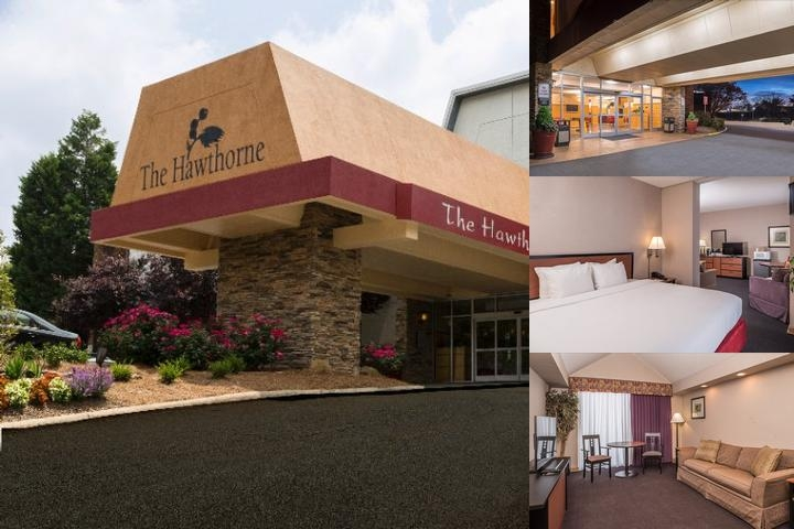 The Hawthorne Inn & Conference Center photo collage