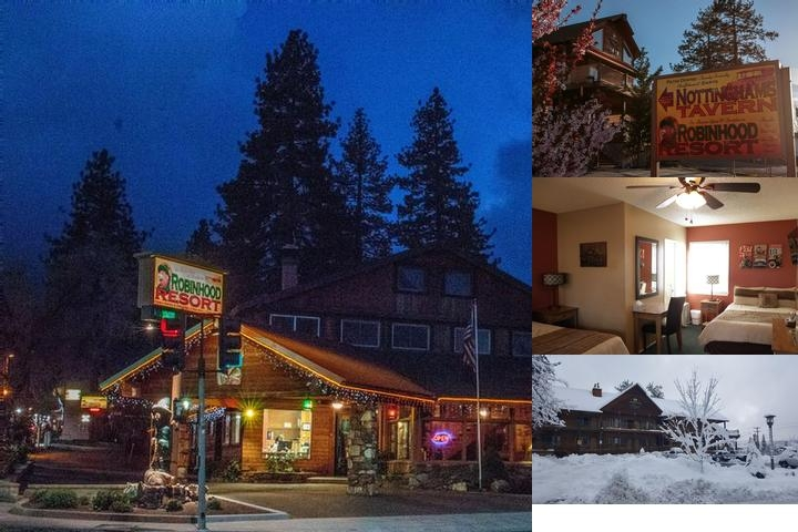 Robinhood Resort photo collage