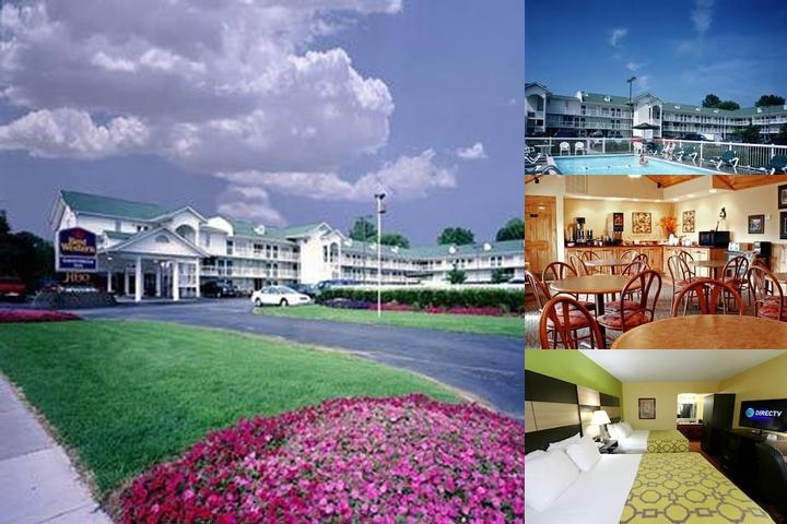 Baymont by Wyndham Sevierville Pigeon Forge photo collage