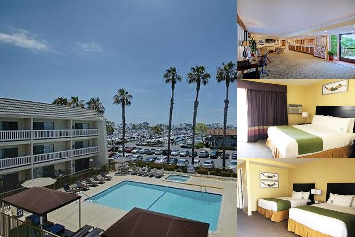 Dana Point Marina Inn photo collage