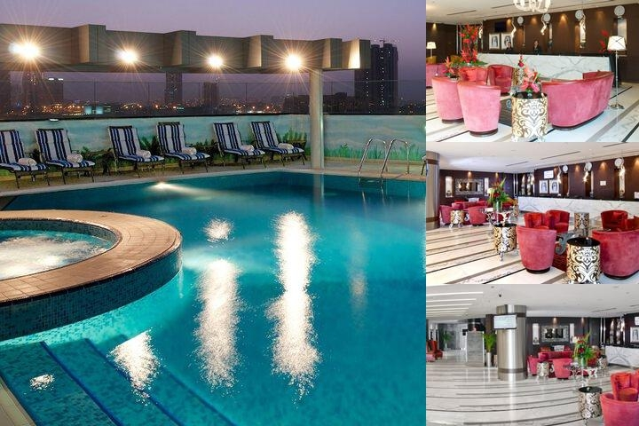 Carlton Al Barsha Hotel photo collage