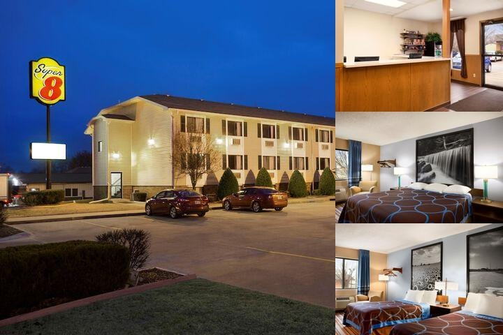 Super 8 by Wyndham Pittsburg Ks photo collage