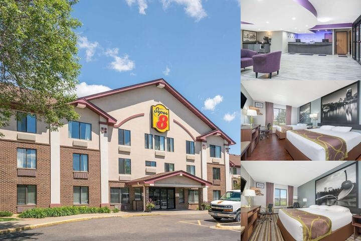 Super 8 by Wyndham Bloomington / Airport photo collage