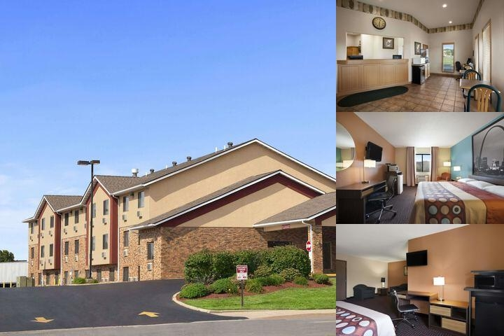Collinsville Super 8 Motel photo collage