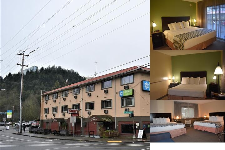Travelodge by Wyndham Portland City Center photo collage