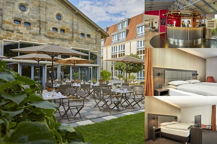 H4 Hotel Residenzschloss Bayreuth photo collage