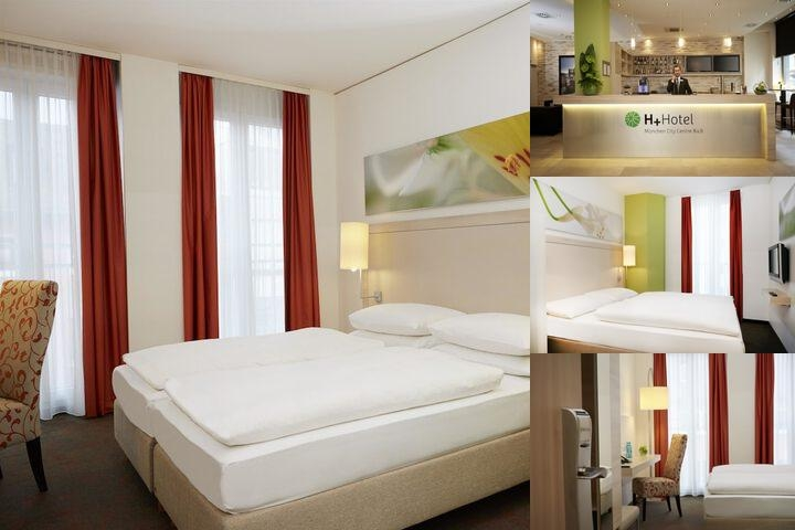 H+ Hotel Muenchen photo collage