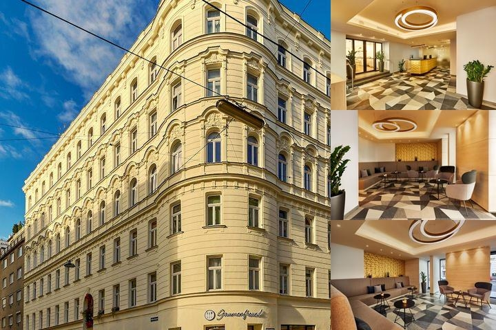 H+ Hotel Wien photo collage