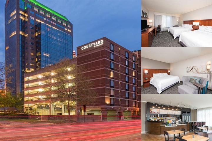 Courtyard by Marriott Louisville Downtown photo collage