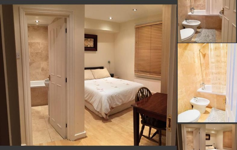 Beresford Road London Rooms photo collage