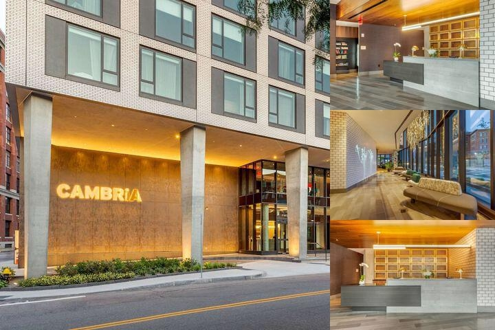 Cambria Hotel Boston Downtown photo collage