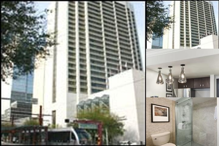 Houston Marriott Medical Center photo collage