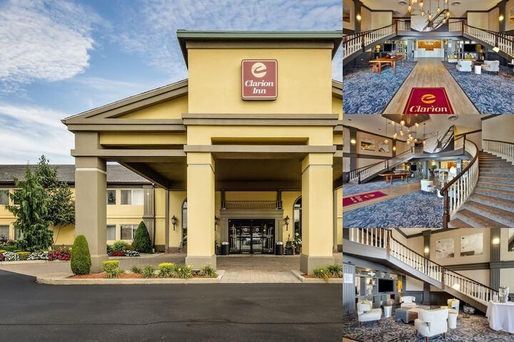 Clarion Inn Seekonk Providence photo collage