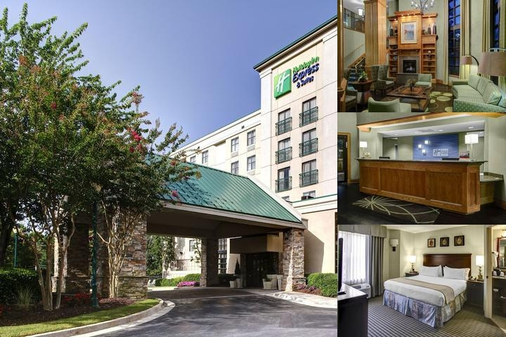 Holiday Inn Express & Suites Atlanta Buckhead photo collage