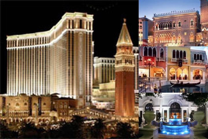 The Venetian Las Vegas photo collage