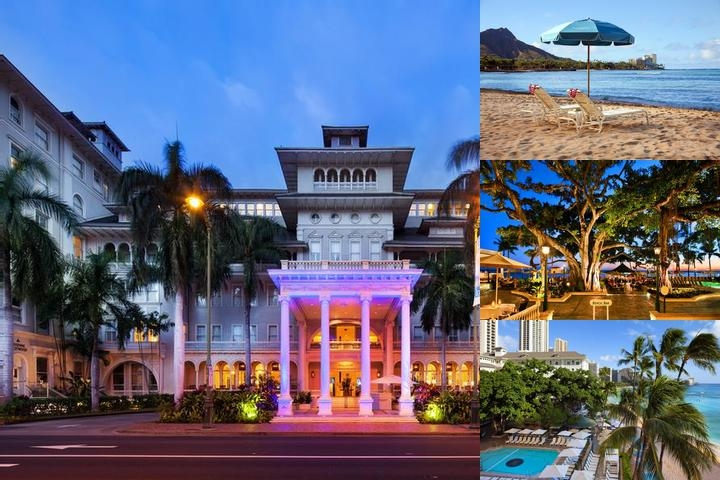 Moana Surfrider a Westin Resort & Spa Waikiki Beach photo collage
