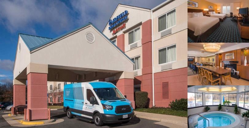 Fairfield Inn & Suites Dulles Airport Chantilly photo collage