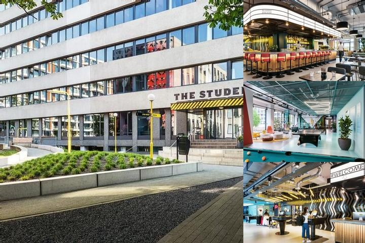 The Student Hotel Amsterdam West photo collage