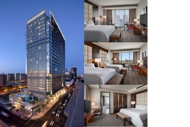 The Westin Phoenix Downtown photo collage