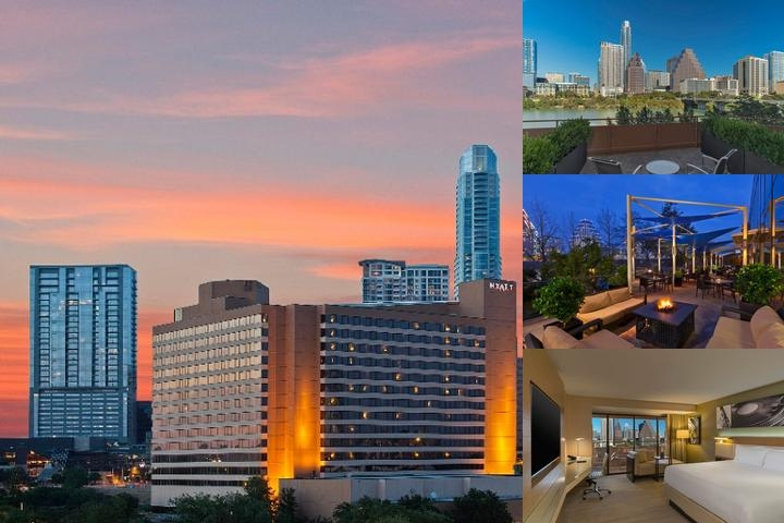 Hyatt Regency Austin photo collage