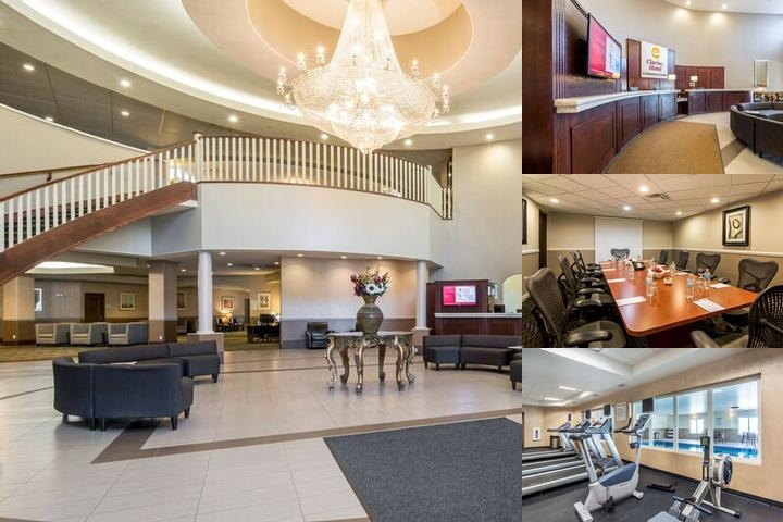 Clarion Hotel & Conference Centre Sherwood Park photo collage