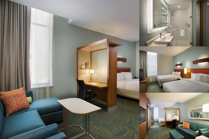 Springhill Suites Houston Downtown photo collage