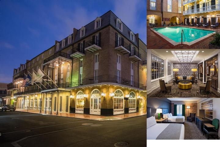 Holiday Inn French Quarter Chateau Lemoyne photo collage
