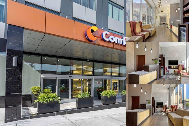 Comfort Inn Prospect Park Brooklyn photo collage