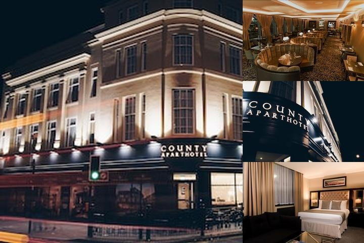 County Aparthotel photo collage