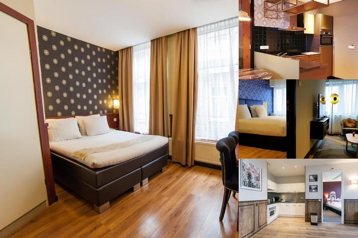 Long Stay Serviced Apartments Amsterdam Sloten photo collage