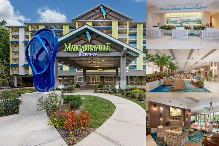 Margaritaville Gatlinburg photo collage