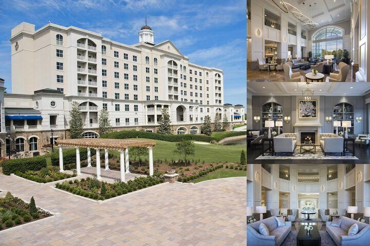 The Ballantyne a Luxury Collection Hotel photo collage
