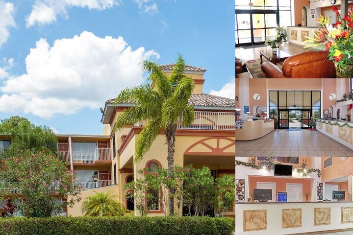 Howard Johnson Inn Tropical Palms Kissimmee Hotel Front