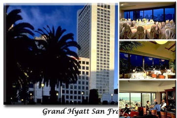 Grand Hyatt San Francisco photo collage