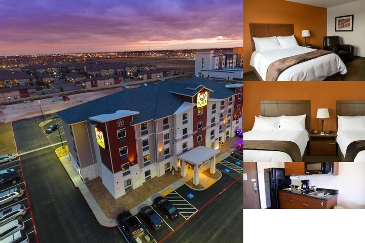 My Place Hotel Lubbock photo collage