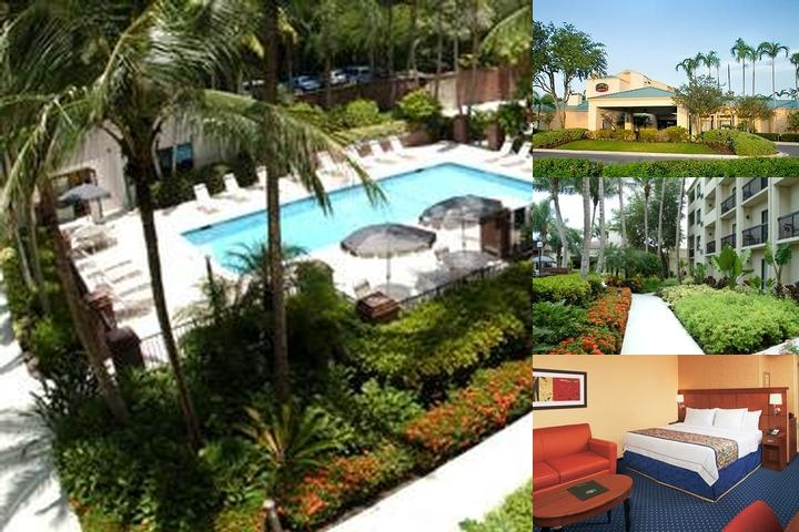 Courtyard Marriott Miami Lakes photo collage