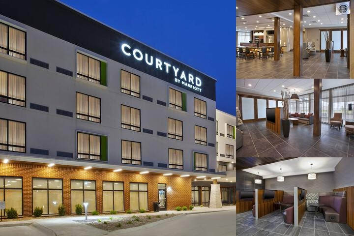 Courtyard St. Joseph Marriott photo collage
