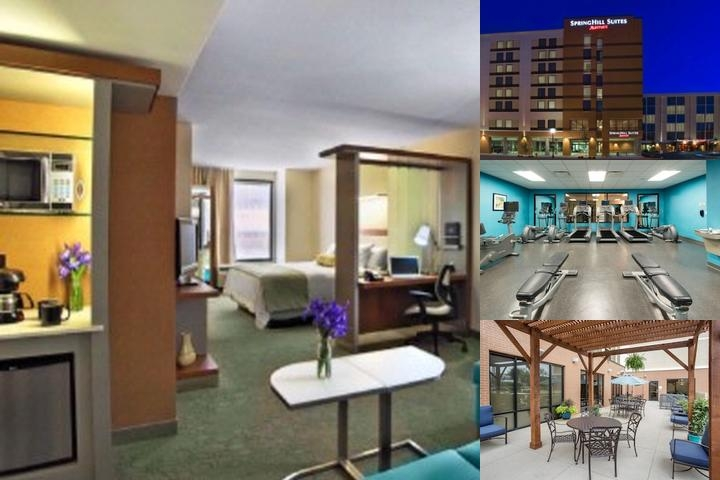 Springhill Suites by Marriott Louisville Downtown photo collage