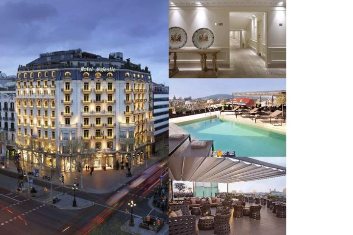 Majestic Hotel & Spa Barcelona photo collage