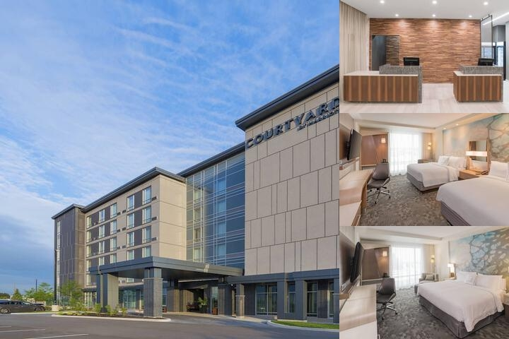 Courtyard by Marriott Burlington photo collage