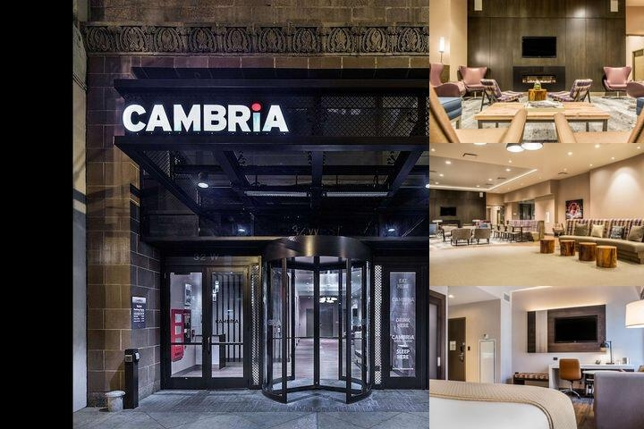 Cambria Hotel Chicago Loop Theatre District photo collage