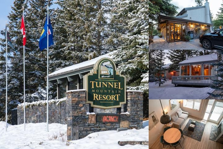 Tunnel Mountain Resort photo collage