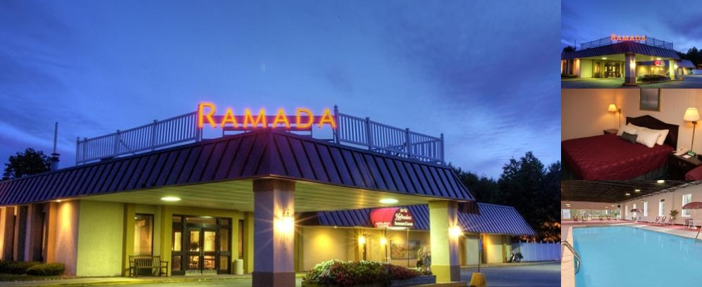 Ramada Queensbury Lake George photo collage