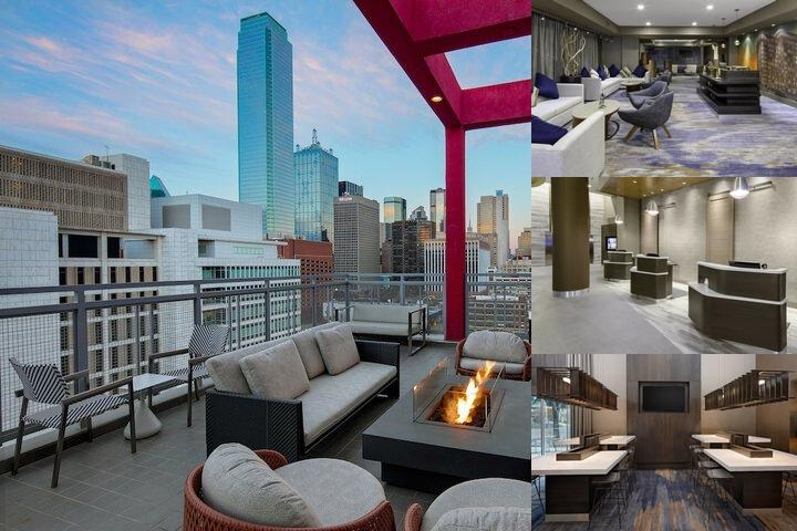 Courtyard by Marriott Downtown Dallas photo collage