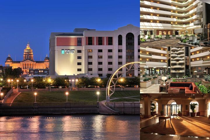 Embassy Suites by Hilton Des Moines Downtown photo collage