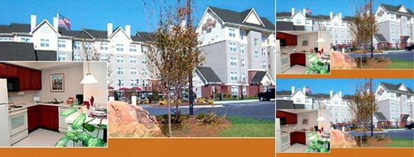 Residence Inn Piper Glen photo collage